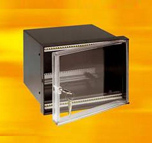 Contenitori per strumentazione da pannello in alluminio serie 443/446