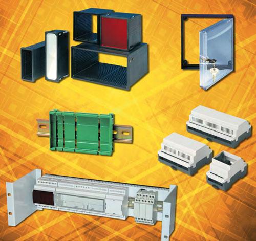Contenitori modulari per barra Din serie RAIL MB